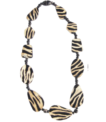 collier SAVANE en corne de buffle