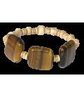 Bracelet MALORIE oeil de tigre