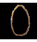 Collier adulte Olivine Cognac
