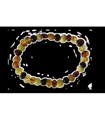 Bracelet Malou ambre multicolore