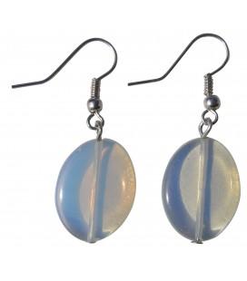 Boucles d'oreille Opaline