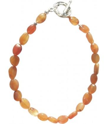 Bracelet Amandine cornaline
