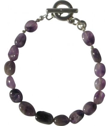 Bracelet Amandine améthyste