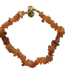 Bracelet Chips cornaline