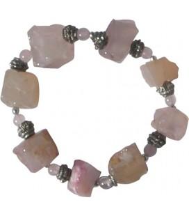 Bracelet Jude quartz rose