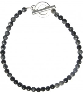 Bracelet Alice obsidienne mouchetée