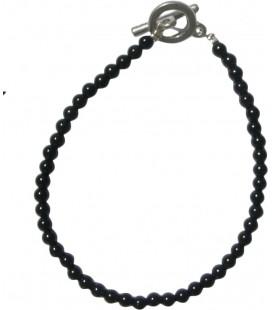 Bracelet Alice onyx noir
