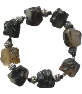 Bracelet Jude onyx noir