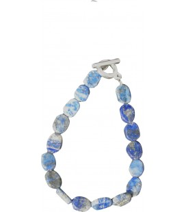 Bracelet Amandine lapis lazuli