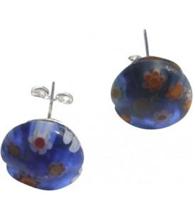 Boucles d'oreille Blue Spring