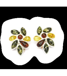 Boucles d'oreille Feuille d'automne