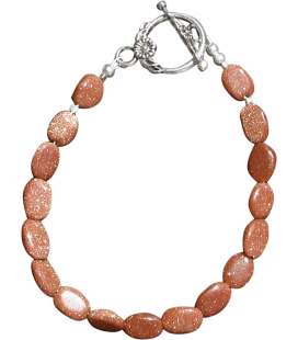 BIJ 613 BRA Bracelet Amandine pierre de soleil