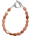 Bracelet Amandine pierre de soleil
