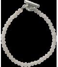 Bracelet Alice quartz rose