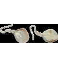Boucles d'oreille Sirène nacre