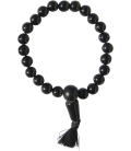 Bracelet Bouddha onyx noir