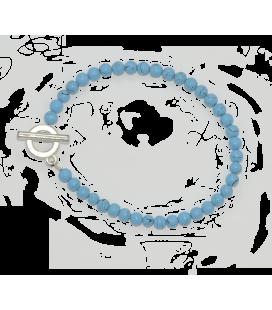 BIJ 805 BRA Bracelet Alice turquoise reconstituée