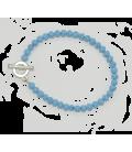 Bracelet Alice turquoise reconstituée