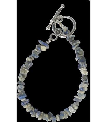 BIJ 911 BRA Bracelet Chips Lapis lazuli