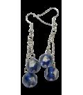 Boucles d'oreille ENZO en verre de Murano
