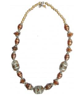 Collier DEODDA en verre de Murano