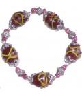Bracelet ADELINE en verre de Murano