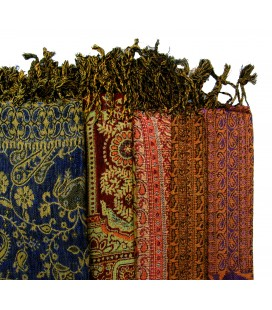 Lot 5 véritables Pashminas